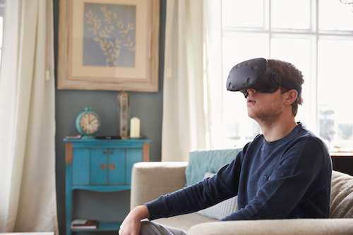 Using virtual reality to select a venue