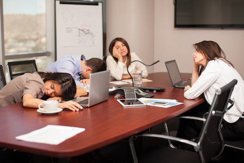 HCCE recommends power napping to improve trade show experience