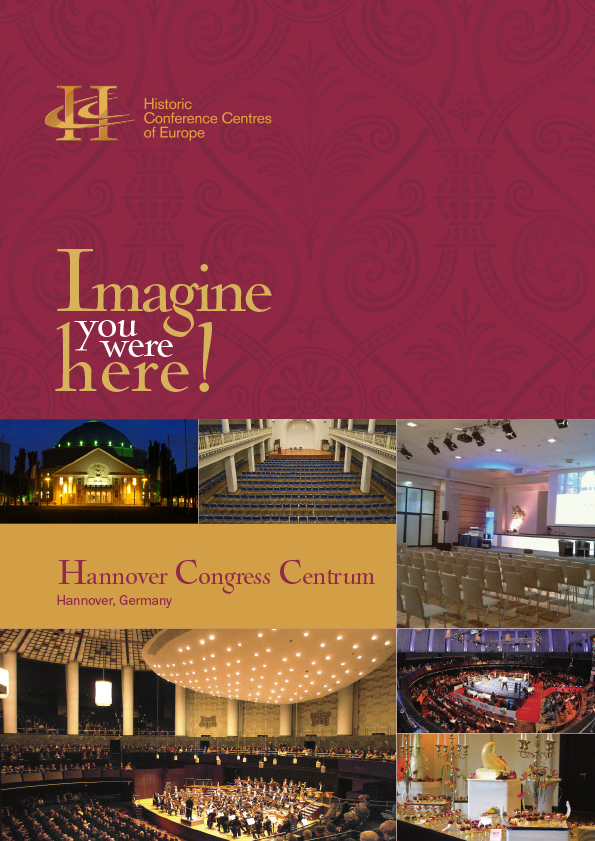 Germany Hannover Congress Centrum PDF Download Cover